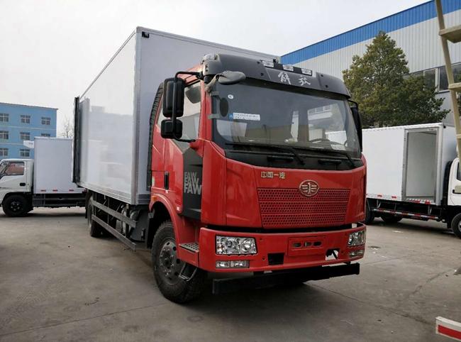 解放J6国五冷藏车(6.8米)