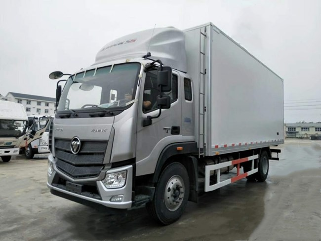 福田欧马可S5国六冷藏车(6.6米)